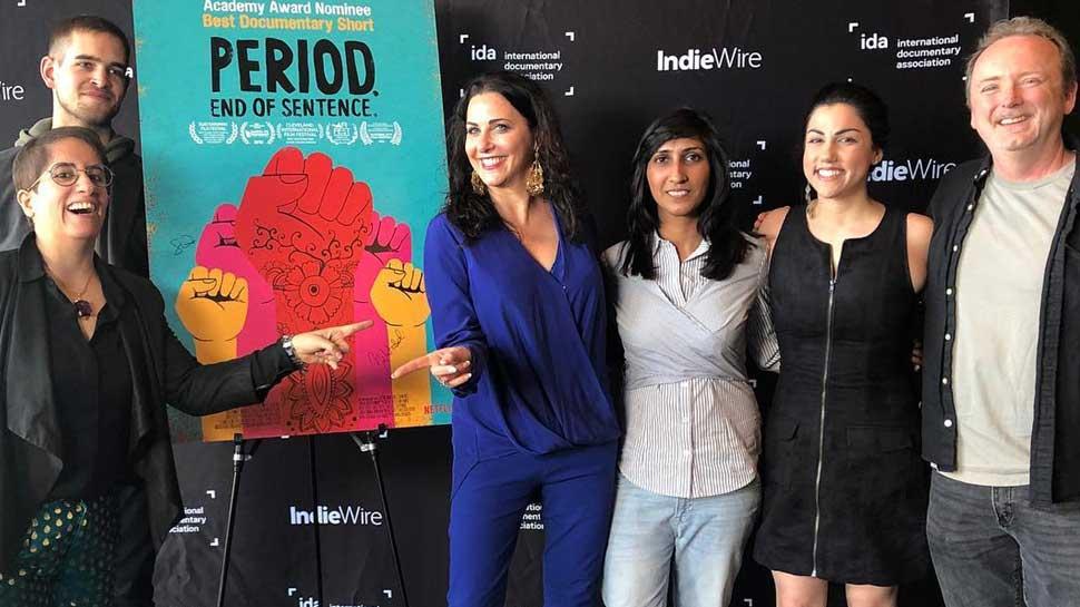 भारतीय शॉर्ट फिल्म 'पीरियड: एंड ऑफ सेंटेंस' को मिला ऑस्कर अवॉर्ड
