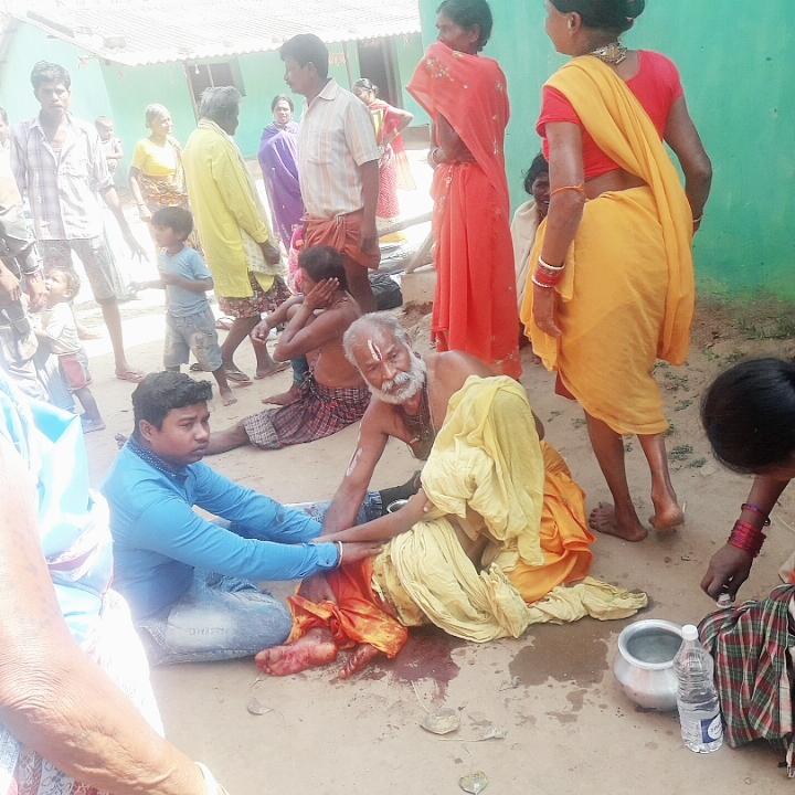 जगदलपुर के चित्रकोट में ब्लास्ट, 1 बच्चे की मौत 3 घायल