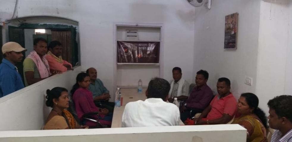 दंतेवाड़ा उपडाकघर में ग्राहक सम्मेलन का आयोजन