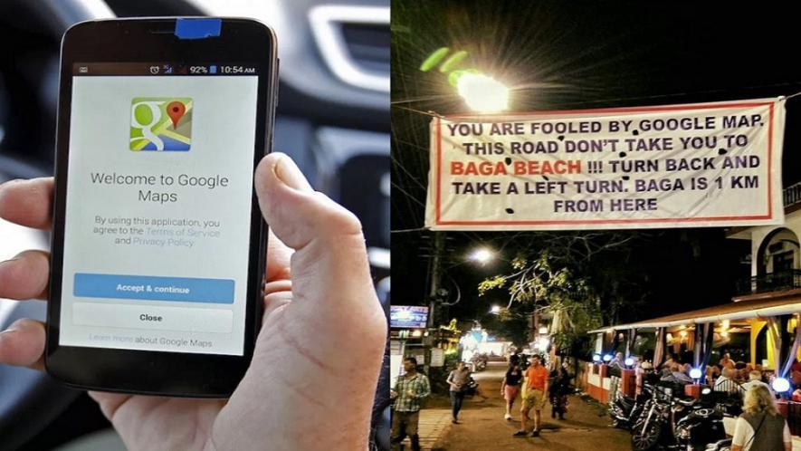 Google Map को फॉलो कर क्या आप पहुंच जाते हैं गलत जगह, ट्विटर पर गोवा का बैनर हुआ वायरल