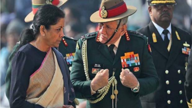 तीनों सेना प्रमुख के साथ रक्षामंत्री लेंगी बैठक