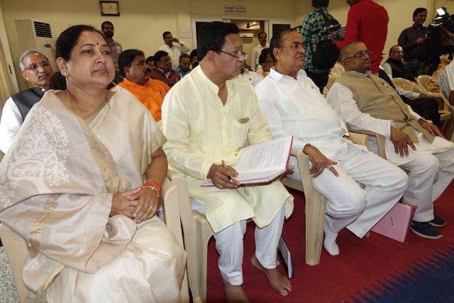 भाजपा प्रदेश पदाधिकारियों की बैठक में लोकसभा चुनाव पर चर्चा