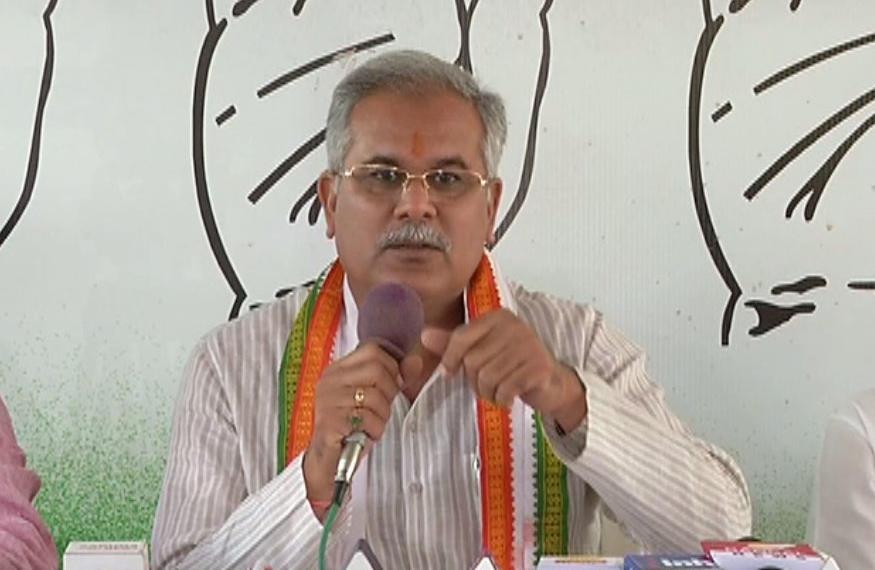 मुख्यमंत्री भूपेश बघेल ने पुलवामा हमले के लिए पीएम मोदी से मांगा इस्तीफा