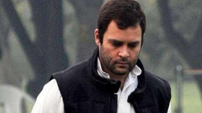 राहुल गांधी के खिलाफ मामला दर्ज