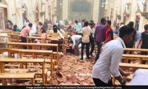श्रीलंका में ईस्टर पर चर्चों, होटलों में बम धमाकों में 215 की मौत, करीब 500 घायल