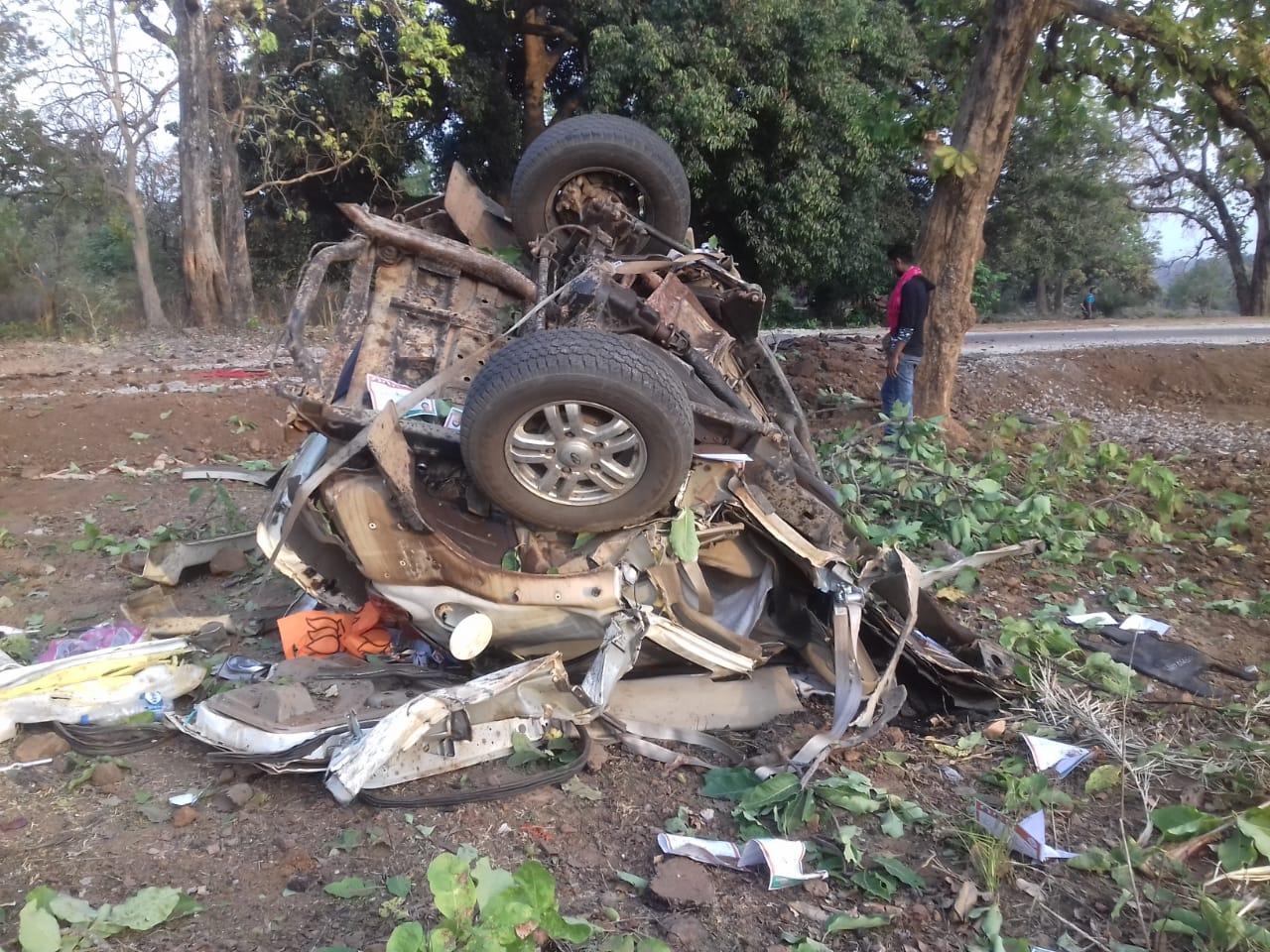 नक्सल हमले में भाजपा विधायक भीमा मंडावी की मौत, PSO सहित पांच जवान भी शहीद