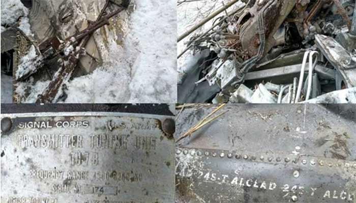 भारतीय सेना के गश्ती दल को अरूणाचल प्रदेश से अमेरिकी विमान का द्वितीय विश्व युद्ध के समय का मलबा मिला
