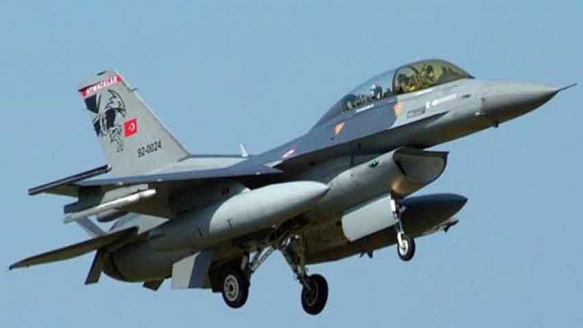 पाकिस्तान ने भेजा F-16 लड़ाकू विमानों का एक बेड़ा पंजाब बॉर्डर पर टोह लेने के लिए