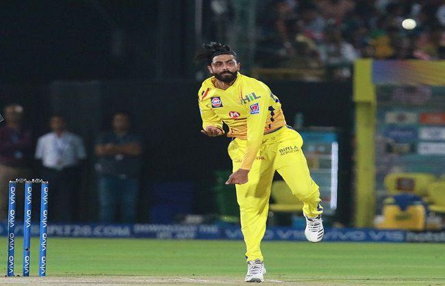 चेन्नई सुपर किंग्स के गेंदबाज रवींद्र जडेजा का आईपीएल में शतक