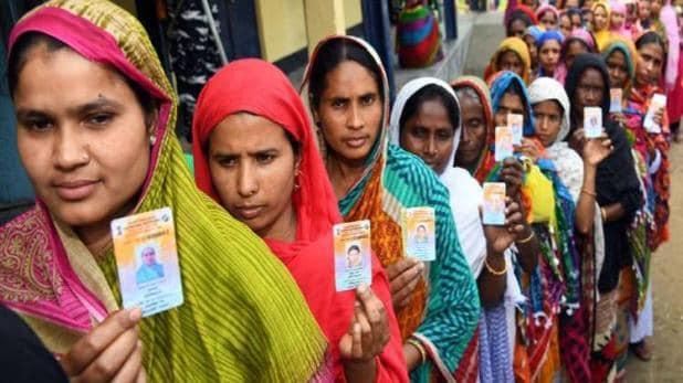 लोकसभा चुनाव 2019 चौथे चरण में 72 सीटों पर वोटिंग शुरू