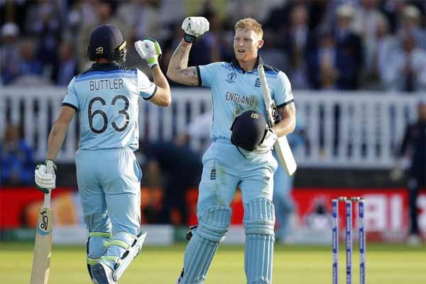 इंग्लैंड ने जीता वर्ल्ड कप 2019, पहली बार बना क्रिकेट का विश्व विजेता वर्ल्ड चैंपियन इंग्लैंड
