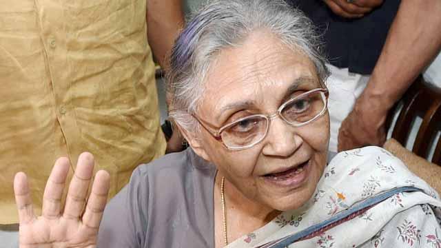 कांग्रेस की वरिष्ठ नेता शीला दीक्षित का आज दोपहर को निधन हो गया