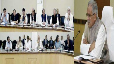 आयकर के छापों के बीच म़ंत्रियों के साथ राज्यपाल से मिलने पहुंचे मुख्यमंत्री बघेल