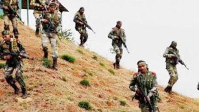 बीजापुर में नक्सली मुठभेड़ 1 नक्सली ढेर डिप्टी कमांडेंट सहित 4 जवान घायल