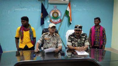 दंतेवाड़ा में 2 इनामी नक्सली समेत कुल 9 गिरफ्तार