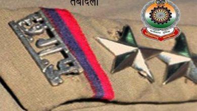 मुंगेली में 4 उप निरीक्षक 6 सहायक उप निरीक्षक 4 प्रधान आरक्षक और 4 आरक्षकों का तबादला