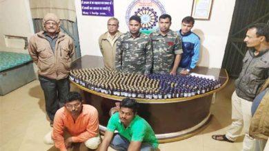 1.50 लाख रुपए की 500 नग कोरेक्स सिरप सहित 2 आरोपी गिरफ्तार