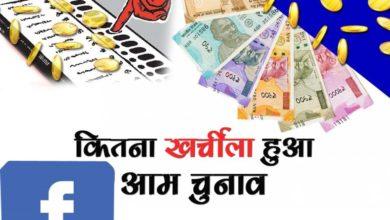 सियासी पार्टियों ने फेसबुक पर उड़ाए 1.99 करोड़ रुपए बदले में क्या मिला