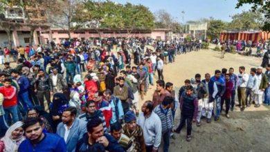 दिल्ली में शाम 6 बजे तक 55 फीसदी पड़े वोट