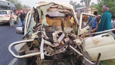 मुजफ्फरपुर में भीषण सड़क हादसा, 14 की मौत 4 घायल