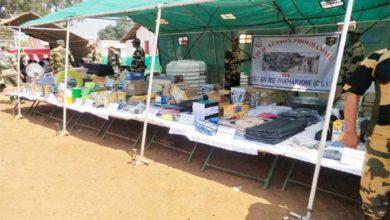 बीएसएफ के सिविक एक्शन प्रोग्राम में मिला गरीब लोगों को जरूरत का सामान