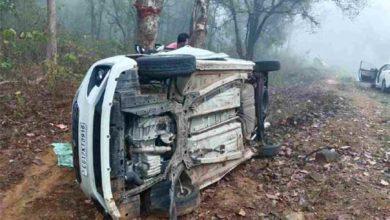 बारसूर -गीदम मार्ग पर पलटी तेज रफ्तार कार, 5 लोगों की मौत