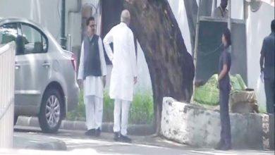 सोनिया गांधी से मिलने पहुंचे सीएम भूपेश बघेल
