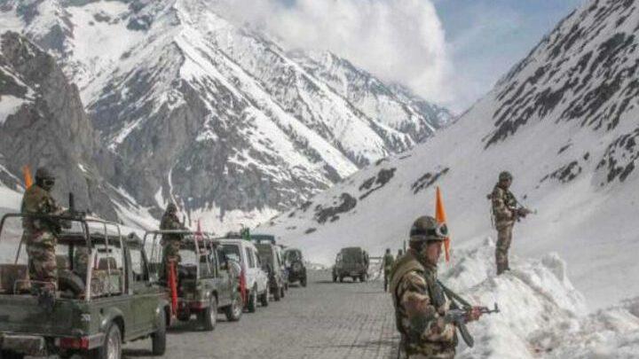 भारत-चीन सेना