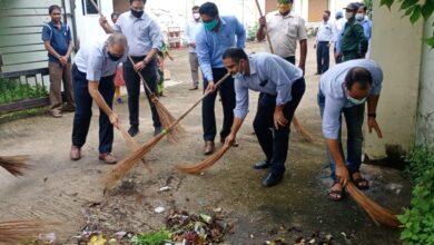 एनएमडीसी में अमृत महोत्सव के तहत विशेष स्वच्छता अभियान की हुई शुरूआत