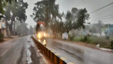 रायपुर में भारी बारिश