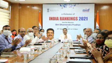 इंडिया रैंकिंग-2021
